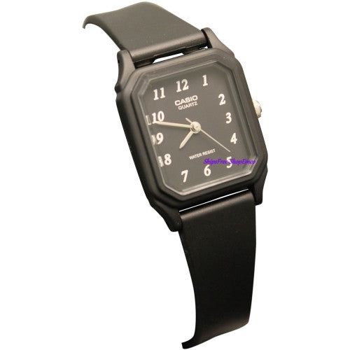Casio Women's Black Resin Watch LQ142-1B