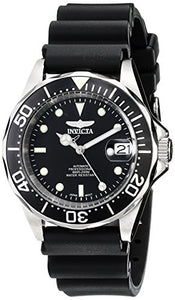 Invicta Men's Pro Diver Automatic Stainless Steel Polyurethane Watch 9110