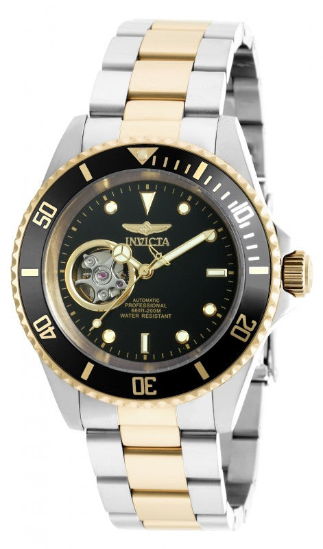 Invicta Men's Pro Diver Automatic 200m Two Toned Stainless Steel Watch 20438