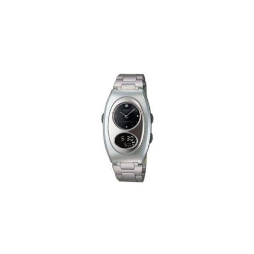 Casio Women's Sheen Analog-Digital Quartz Stainless Steel Watch SHN112-1