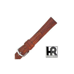 Hadley Roma Womens Pebbled Leather Watch Strap, Tan, Size 12 MM Regular