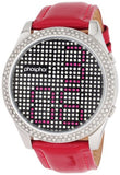 Phosphor Women's MD003L Appear Collection Fashion Crystal Mechanical Digital Watch