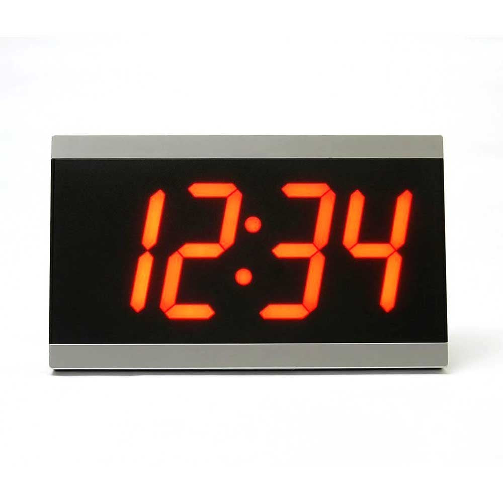 "Sonic Alert Big 4"" x 11"" LED Display Dual Alarm Clock BD4000"