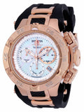 Invicta Women's Subaqua Chronograph 500m Rose Gold Black Silicone Watch 17238