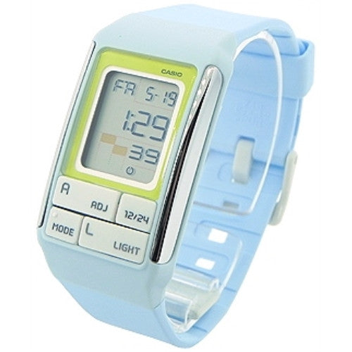CASIO LADIES POPTONE DIGITAL RESIN WATCH LDF51-2A