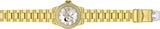 Invicta Women's Character Collection 200m Gold Tone Stainless Steel Watch 24492