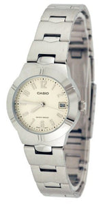 CASIO WOMEN'S STAINLESS STEEL ANALOG WATCH LTP1241D-7A2