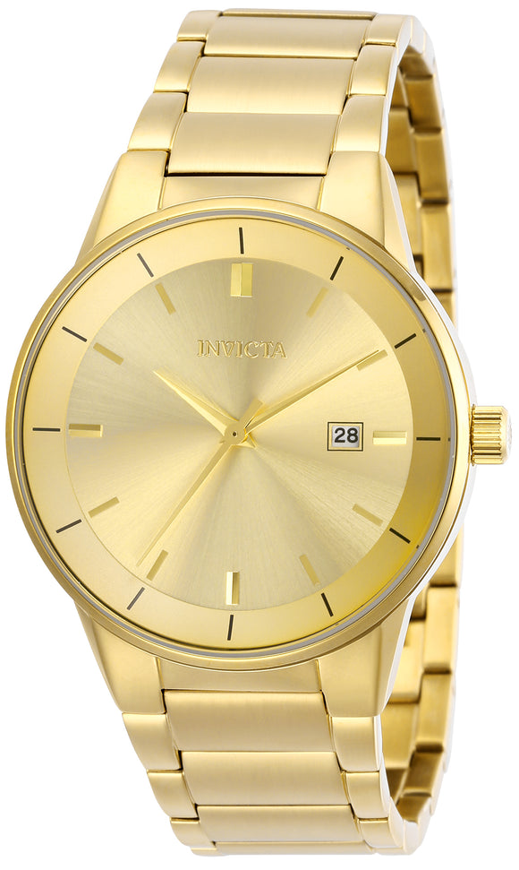 Invicta Men's Specialty Quartz Stainless Steel Gold Tone Watch 29476