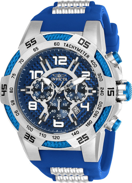 Invicta Men's S1 Rally Blue Dial Watch Image
