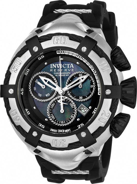 Invicta Men's Bolt Quartz Chronograph Black Dial Watch 21351