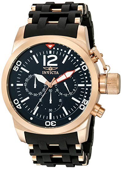 Invicta Men's Sea Spider Quartz Chronograph Stainless Steel Watch 14865