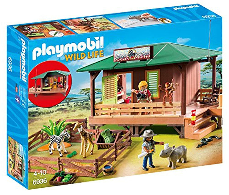 PLAYMOBIL Ranger Station with Animal Area 6936