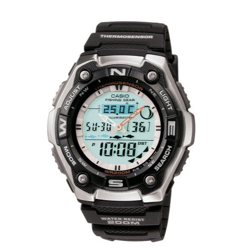 Casio Men's Active Dial Multi-Task Sport Watch AQW101-1
