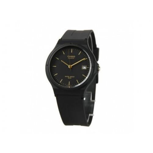 Casio Men's Black Analog Date Watch MW59-1E