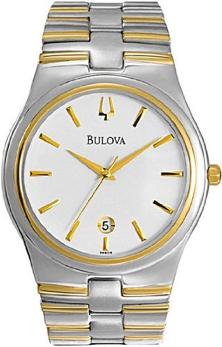 Bulova Men's Two-tone Bracelet watch #98B108