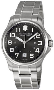 Victorinox Swiss Army Men's Officers Gent Easy to Read LuminousWatch 241361