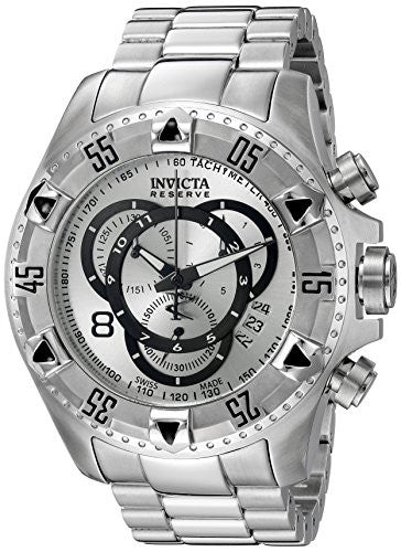 Invicta Men's Excursion Chronograph Tachymeter Stainless Steel  Watch 5525