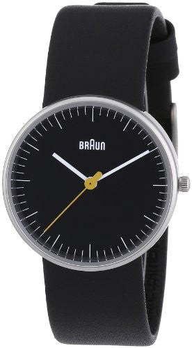 Braun Ladies White Leather Strap Watch
