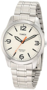 Timex Men's T2N635 Weekender Classic Casual Cream Dial Bracelet Watch