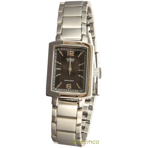 CASIO WOMEN'S STAINLESS STEEL ANALOG WATCH LTP1233D-1A