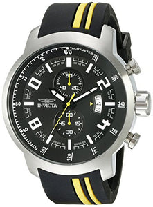 Invicta Men's S1 Rally Chronograph Stainless Steel Polyurethane Watch 20216