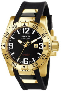 Invicta Men's Excursion 200m Stainless Steel Black Polyurethane Watch 6255