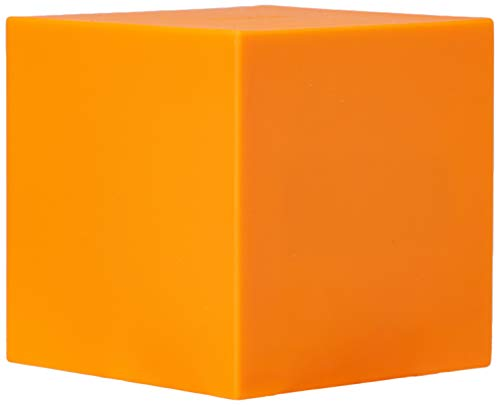 Gingko Gravity Cube Click Clock Orange Alarm Clock 18OE