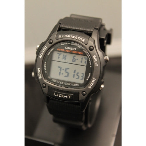 Casio Digital Dual Time 50M Alarm Light Watch W93H-1