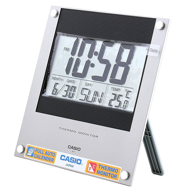 Casio Thermo Monitor Digital Wall/Desk Clock ID-11S-2
