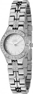 Invicta Women's Wildflower Quartz Crystal Accent Stainless Steel Watch 0126
