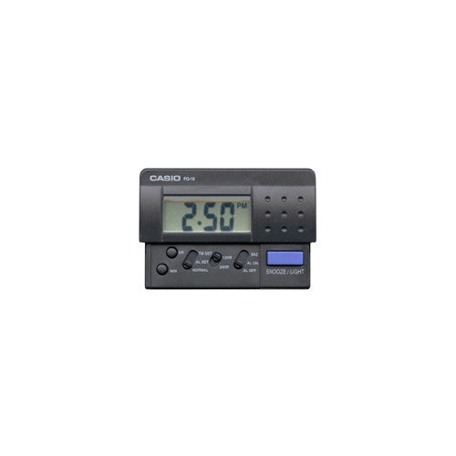 Casio Digital Snooze Light Alarm Clock PQ10-1 PQ-10