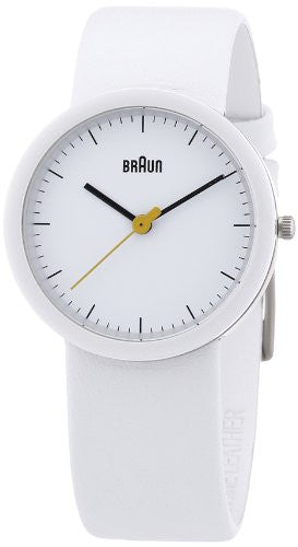 "Braun Women's BN0021WHWHWHL ""Classic"" Watch with Leather Band"