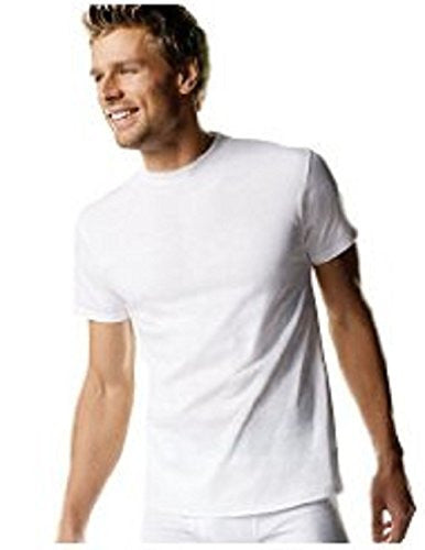Hanes Men's Crewneck White T-Shirt, 3 Pack, Large (Slightly Imperfect) 2135