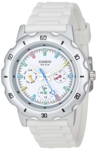 Casio Women's Sport Classic Chronograph White Watch LTP1328-7EV