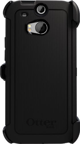 Otterbox Defender Series for HTC One M8 - Frustration-Free Packaging - Black