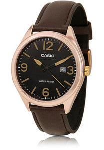Casio Enticer Analog Black Dial Men's Watch - MTP-1342L-1B2DF (A628)
