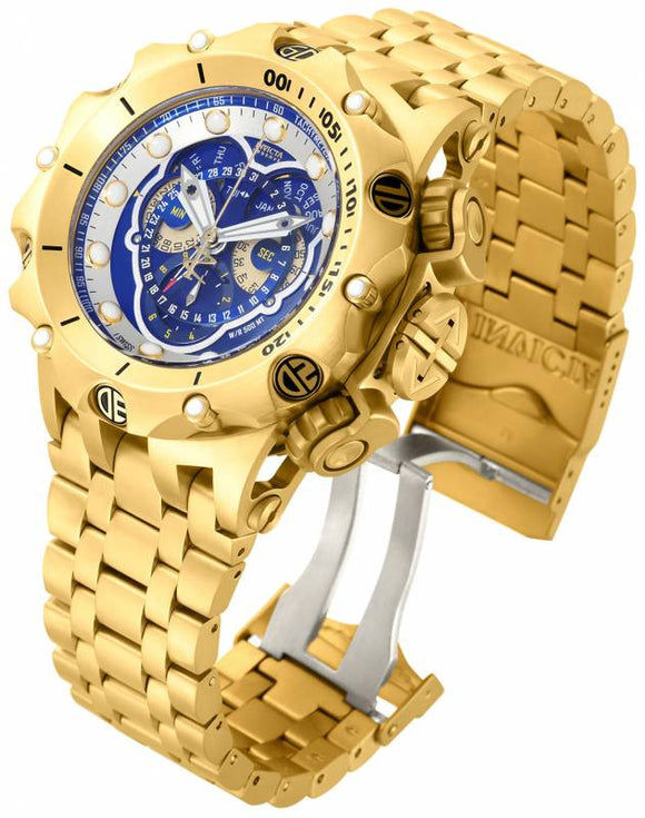Invicta Men's Venom Chronograph 500m Gold Plated Stainless Steel Watch 16805