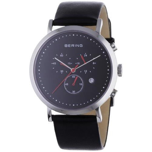 Bering Men's Leather Watch