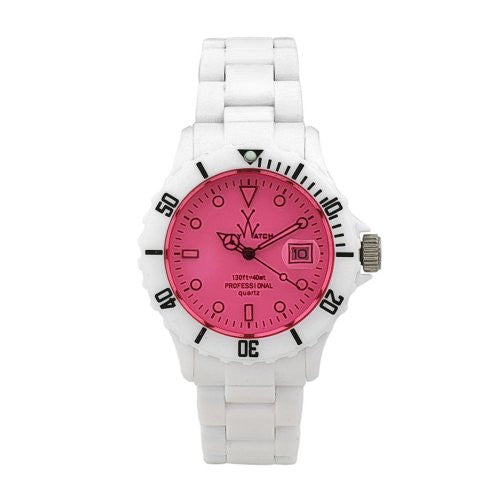 TOY FLUO MOOD ONLY TIME WHITE DIAL WATCH