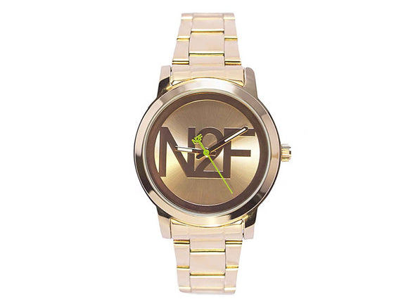 Nine2Five Women's Lavish Rose Gold Plated Alloy/Stainless Steel Watch ALVH08RGRG