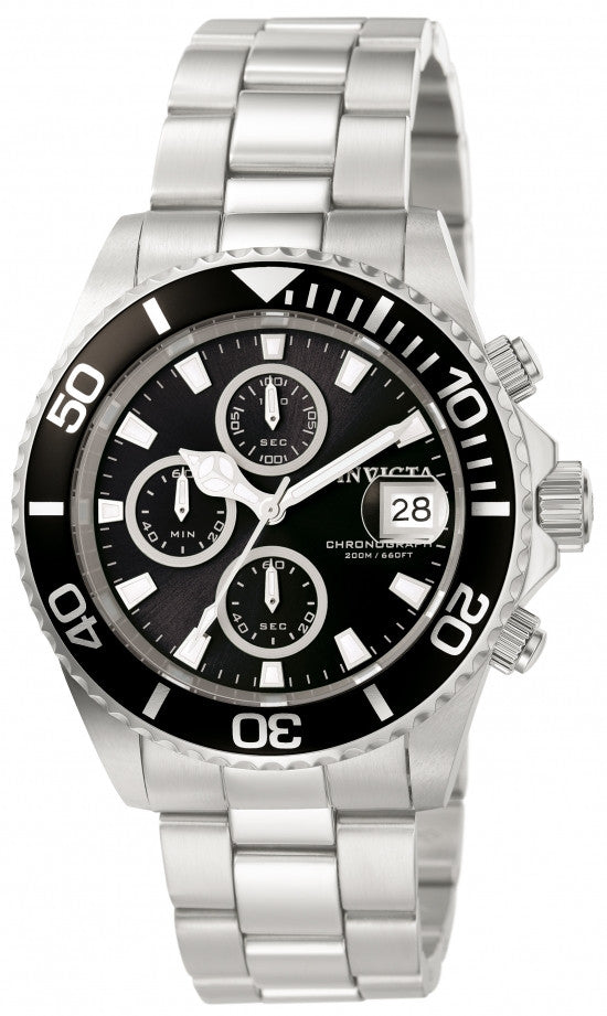 Invicta Men's Pro Diver Analog 200 Meter Water Resistance Watch 1003