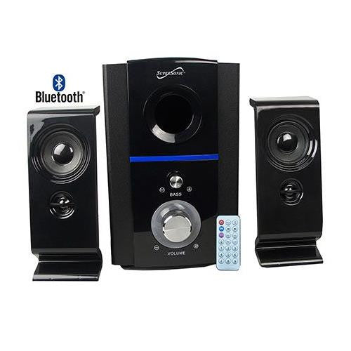 Supersonic Bluetooth Multimedia Remote Control Speaker System SC1126BT