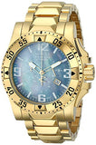 Invicta Men's Excursion Chronograph 200m Gold Plated Stainless Steel Watch 6256