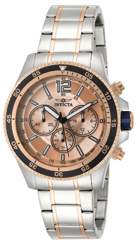 Invicta Men's Specialty Chronograph Quartz Two Toned Stainless Steel Watch 13977