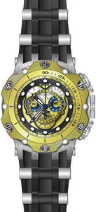 Invicta Men's Venom Chronograph 500m Stainless Steel Black Silicone Watch 20428