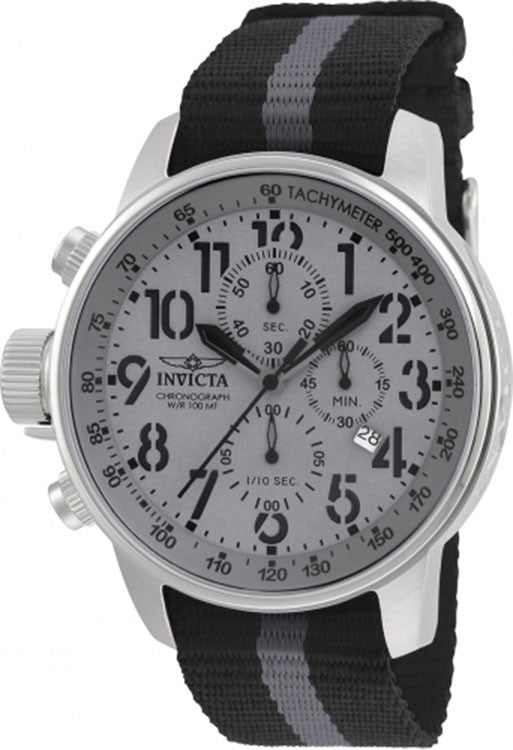 Invicta Men's 22846 I-Force Quartz Multifunction Grey Dial Watch