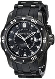 Invicta Men's Pro Diver Black Dial Polyurethane Stainless Steel Watch 6996