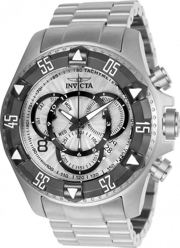 Invicta Men's Excursion Quartz Chronograph 200m Stainless Steel Watch 24262