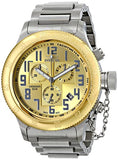 Invicta Men's Russian Diver Chronograph Two Tone Stainless Steel Watch 15554