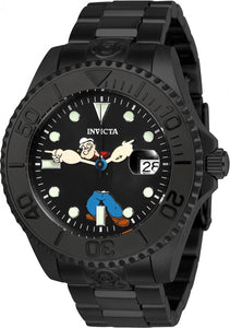 Invicta Men's Character Black Dial Watch 24471